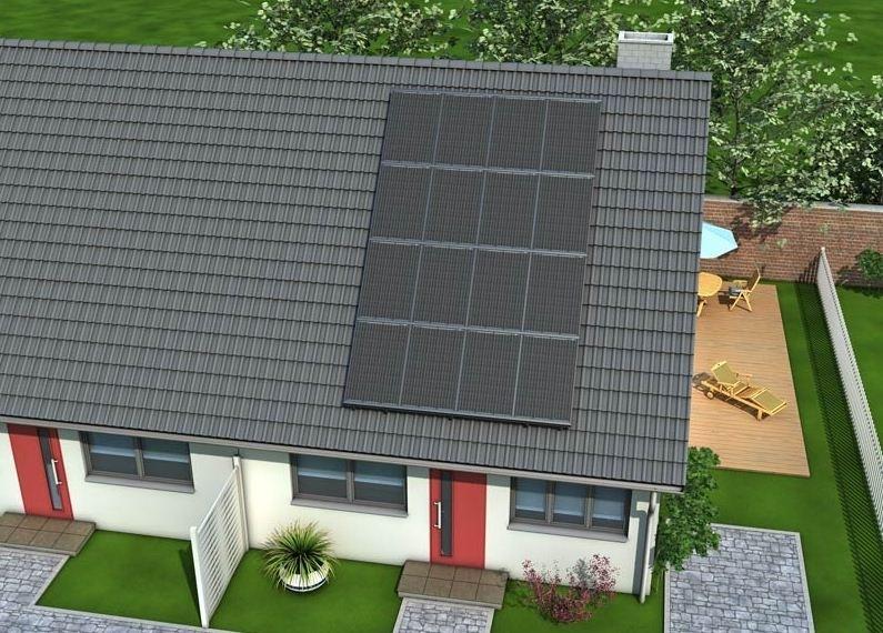 ułożenie na dachu