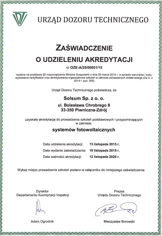 Certyfikat-UDT