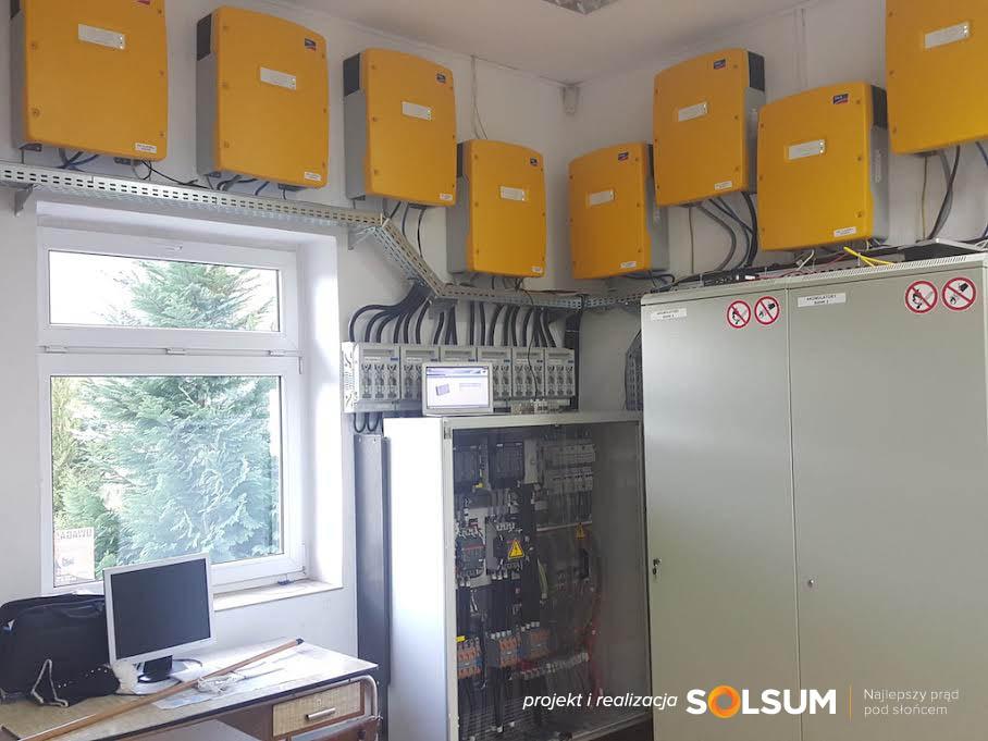 SOLSUM off grid instalacja pv