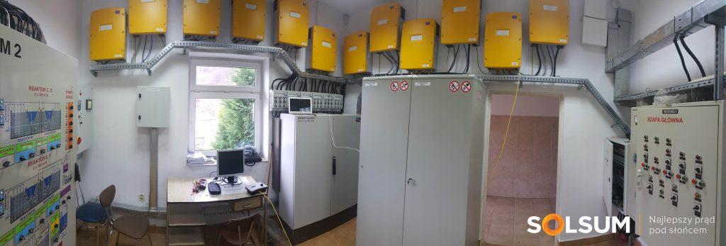 Instalacja fotowoltaiczna z magazynowaniem energii